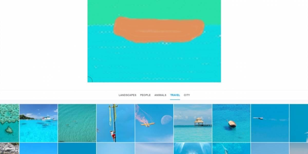 Splash te permite buscar imágenes con dibujos feos