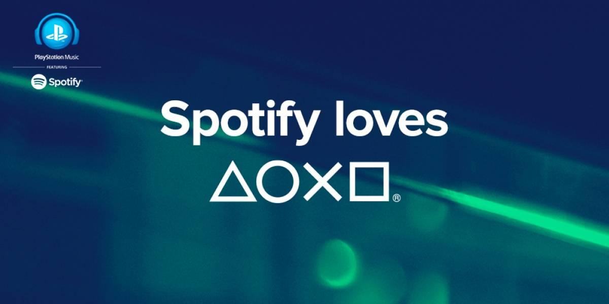 Spotify llegará a PlayStation