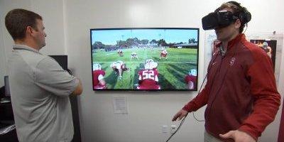 Jugadores de la NFL ahora se preparan para llegar al Super Bowl con este dispositivo VR