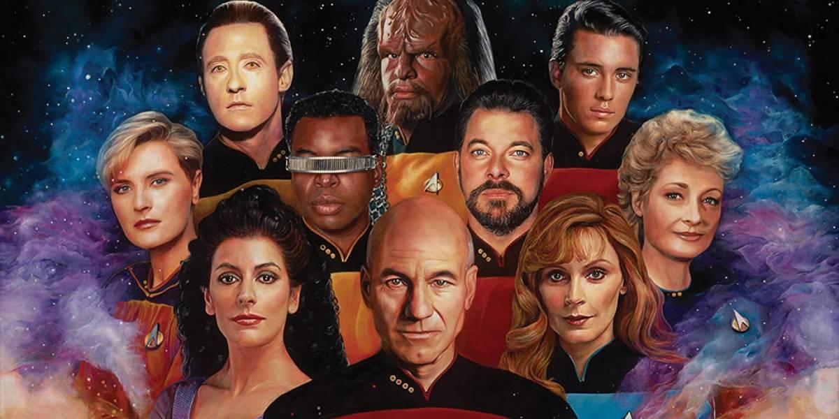 Artistas celebran con magnificas obras los 50 años de Star Trek