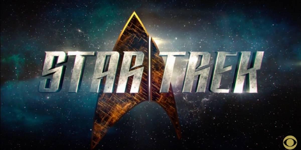 Este es el nuevo logo de la serie de televisión de Star Trek