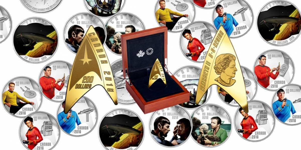 Canadá festeja el 50 aniversario de Star Trek con monedas de colección