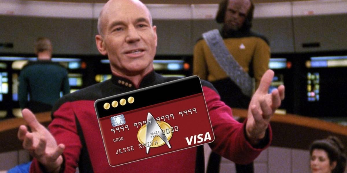 La NASA lanza una tarjeta de crédito de Star Trek