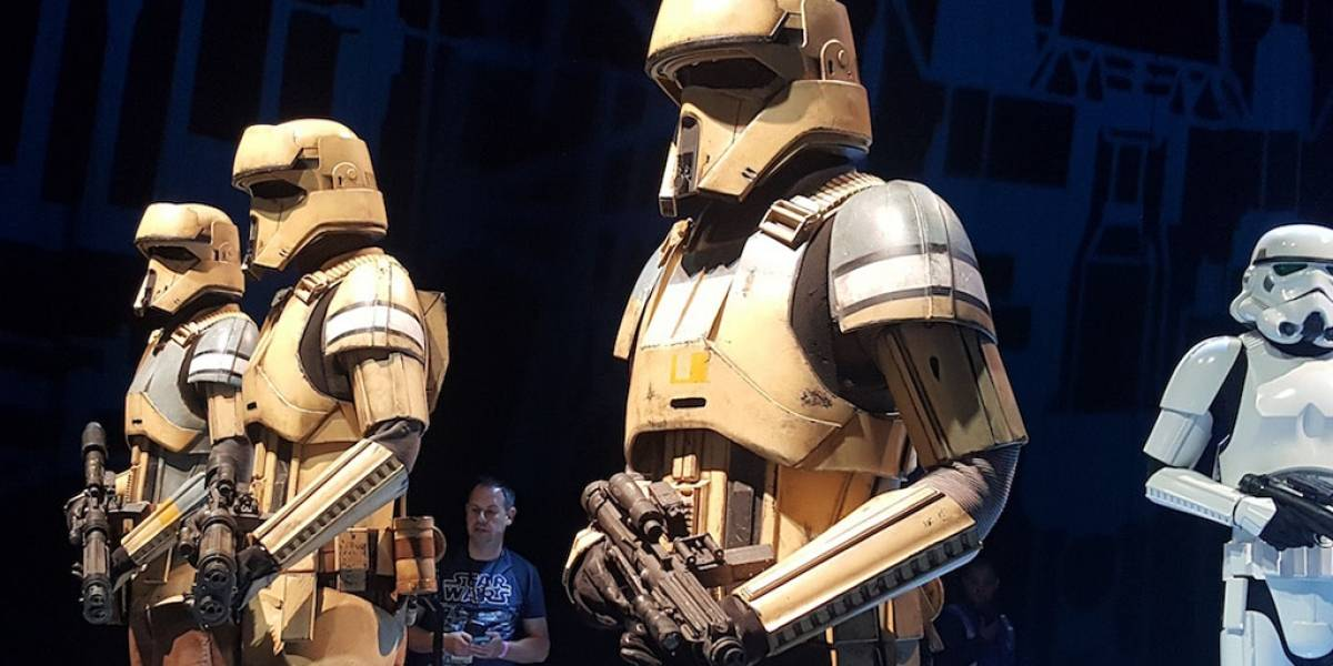 Revelan nuevo personaje para Rogue One: A Star Wars Story
