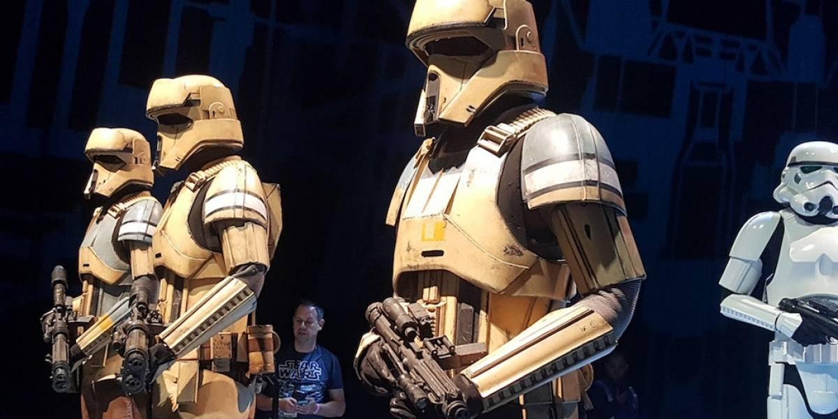 Estos son los trajes de los personajes en Rogue One: A Star Wars Story