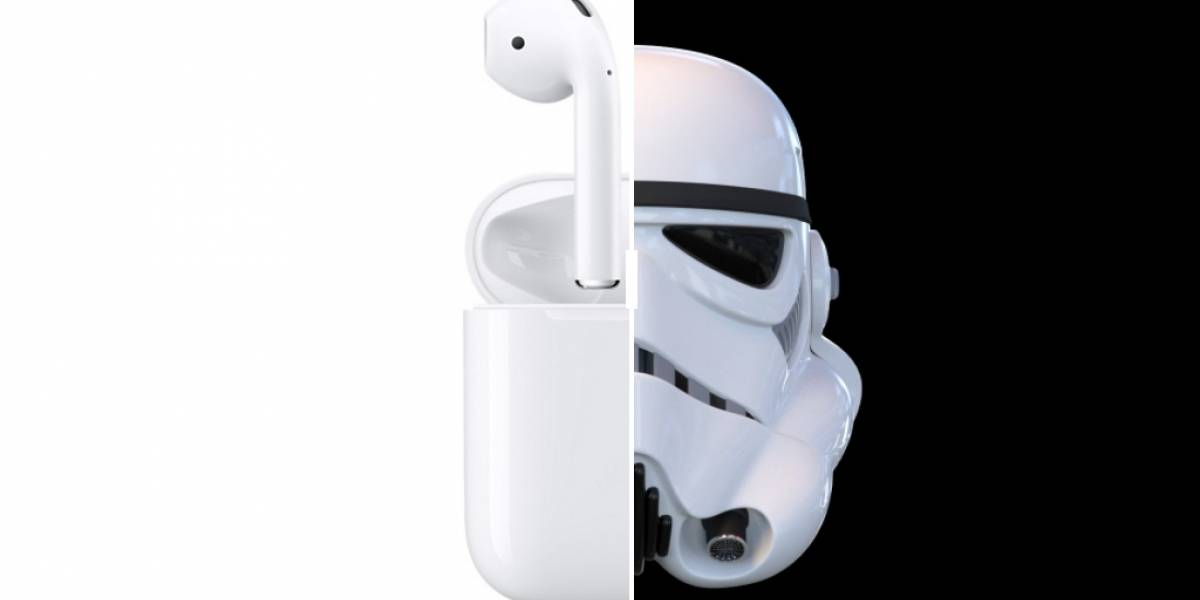 Jony Ive admite que se inspiró en Star Wars para diseñar los earbuds de Apple