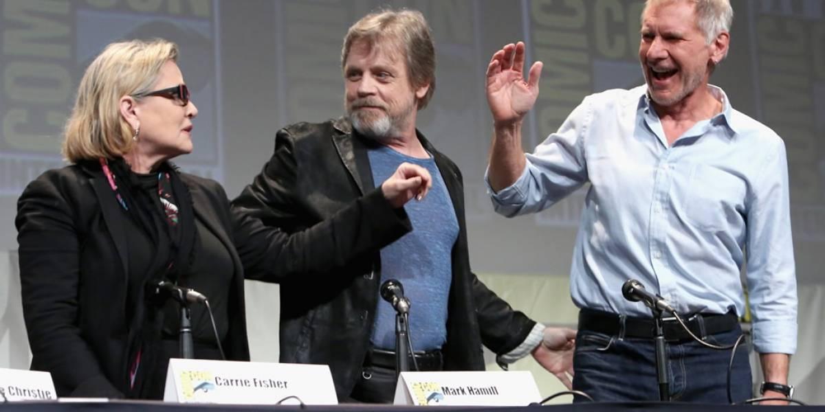 Disfruta todo el panel de Star Wars: El Despertar de la Fuerza en video #SDCC