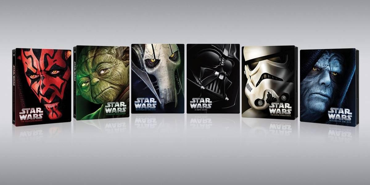 La saga Star Wars se lanzará de nuevo en blu-ray, con cajas metálicas