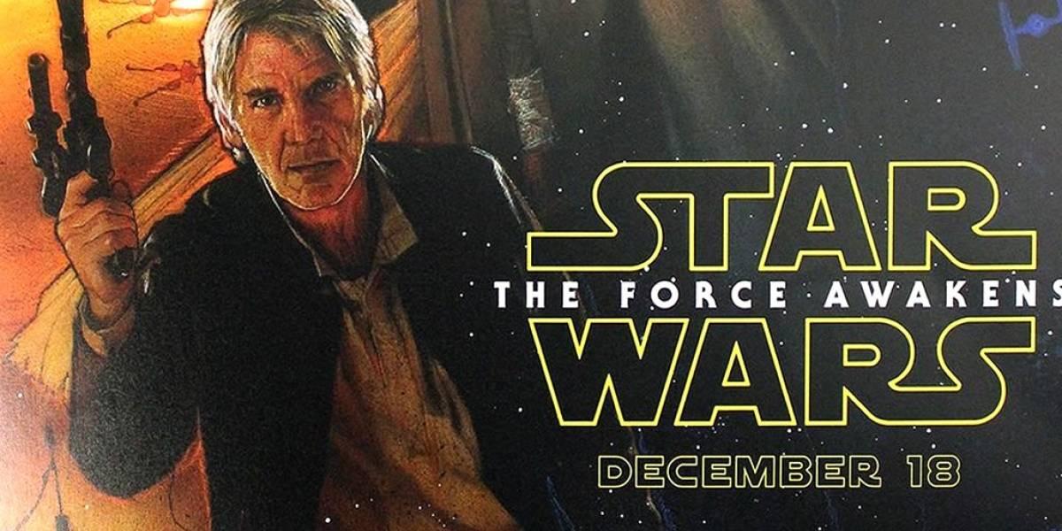 Se revela póster de Star Wars: El Despertar de la Fuerza