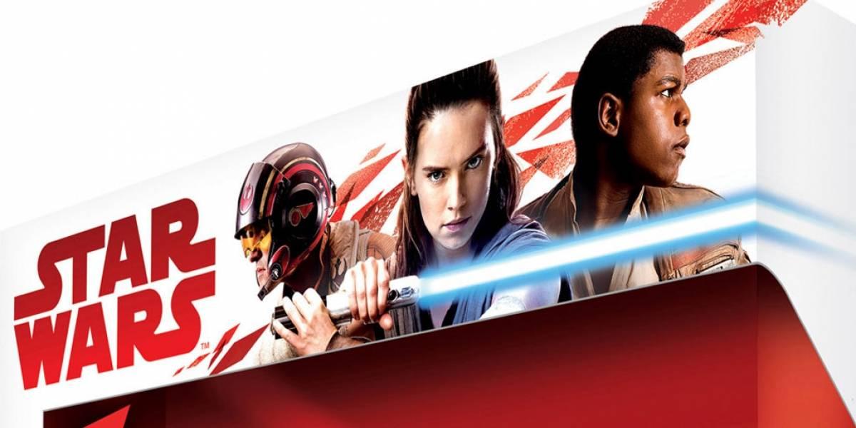 Este es el primer vistazo a Rey, Finn y Poe Dameron en Star Wars: The Last Jedi
