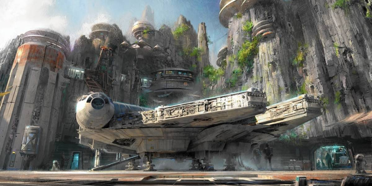 La zona de Star Wars será la de mayor tamaño en parques temáticos de Disney