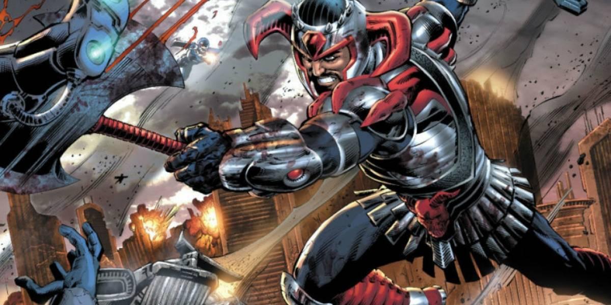 Nuevo y más detallado vistazo a Steppenwolf de Justice League