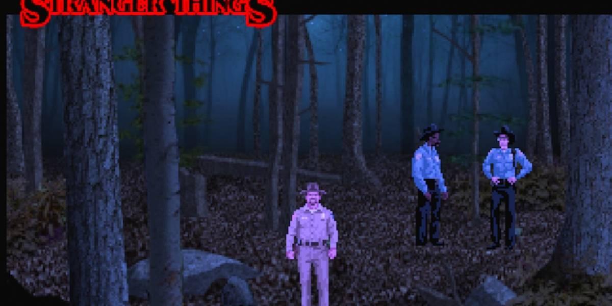Stranger Things consigue su propio videojuego tributo