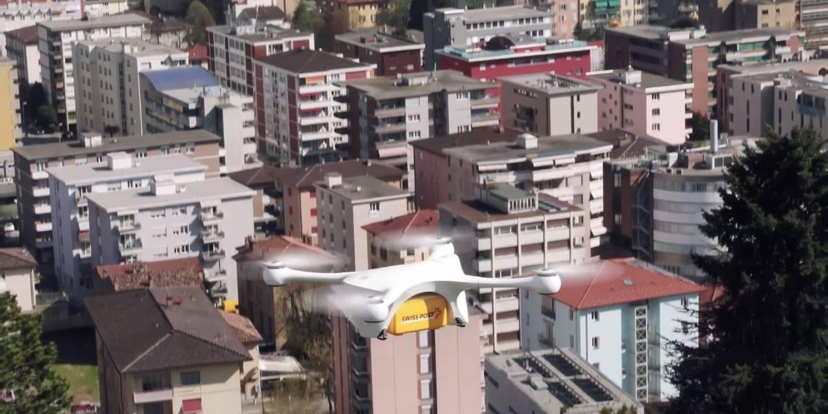 Hospitales suizos usarán drones para intercambiar muestras de laboratorio
