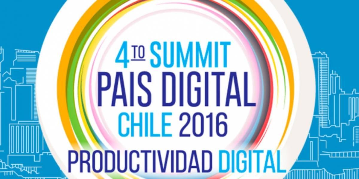 IV Summit País Digital: La incorporación de las TIC en la productividad guiará a Chile al desarrollo