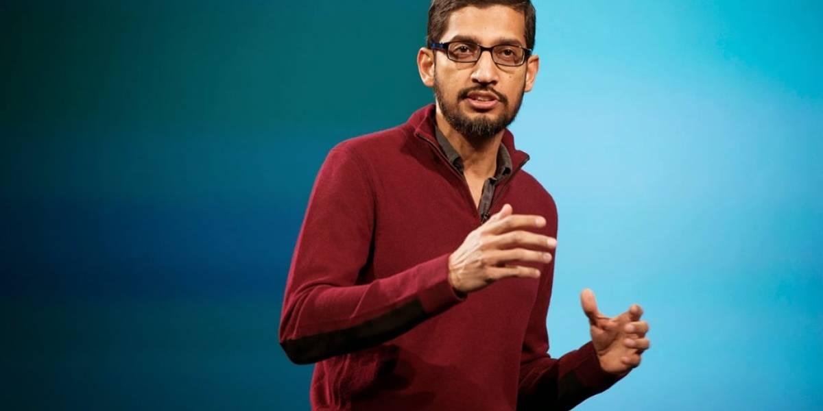 Sundar Pichai es el nuevo CEO de Google