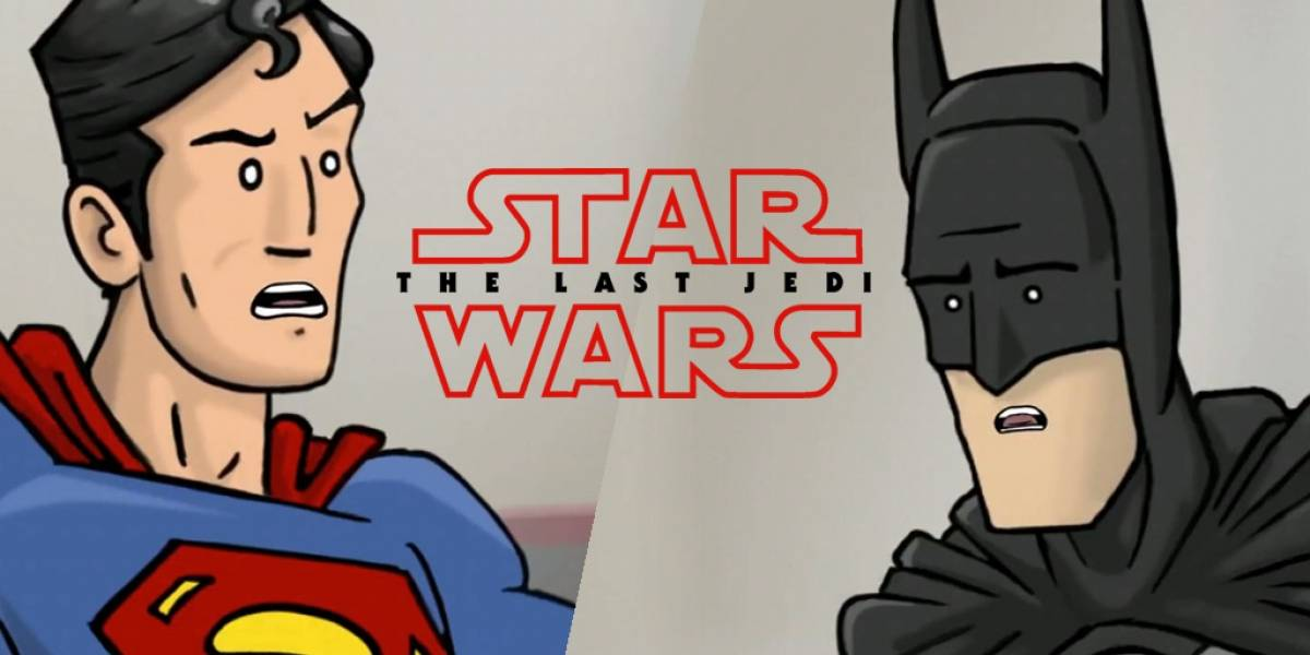 Batman y Superman discuten el tráiler de The Last Jedi