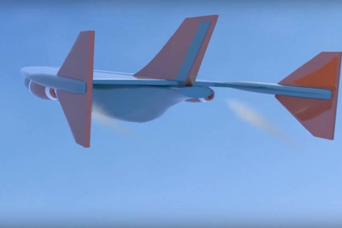 """Airbus patenta jet que """"puede cruzar el Atlántico en una hora"""""""