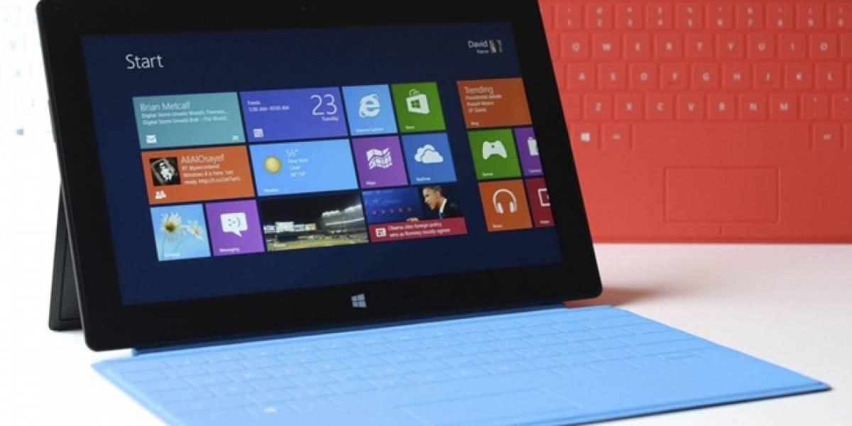 Microsoft pretende vender 25 millones de Surface de aquí a julio del 2014
