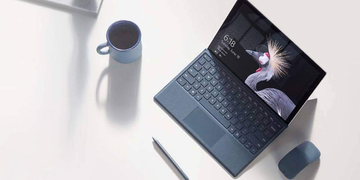 Microsoft actualiza la Surface Pro con nuevos procesadores y LTE