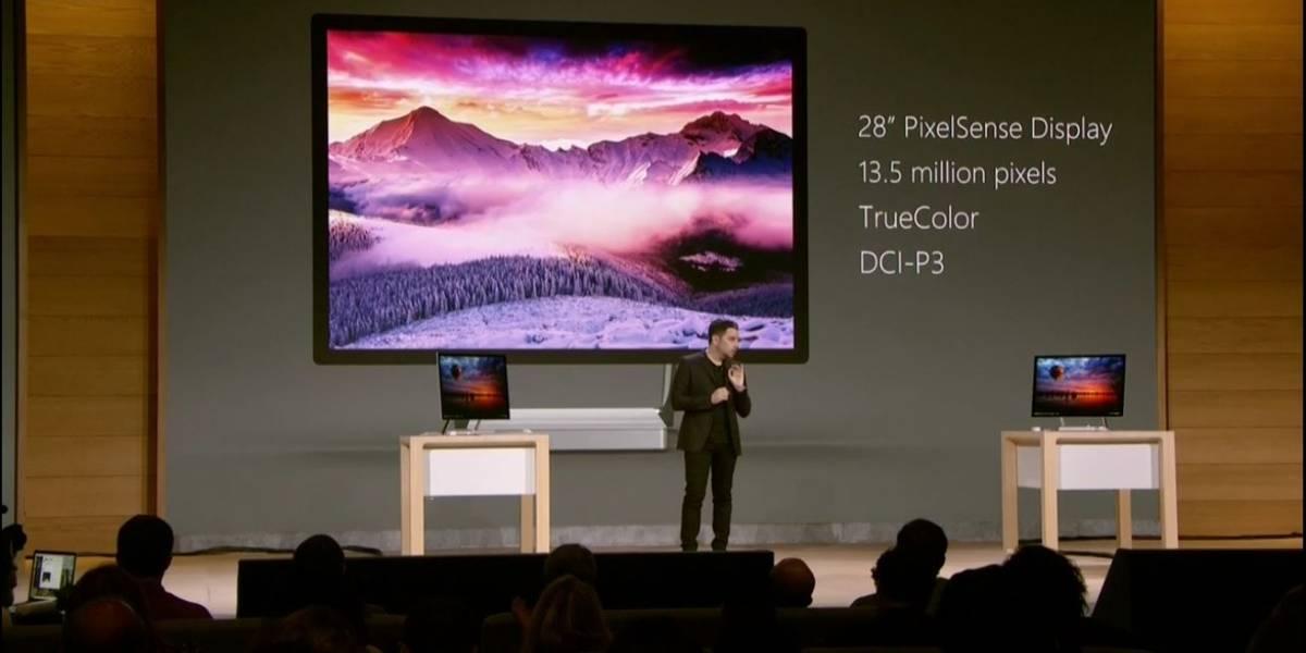 Microsoft presenta la Surface Studio, algo así como un iMac con Windows 10 #MicrosoftEvent