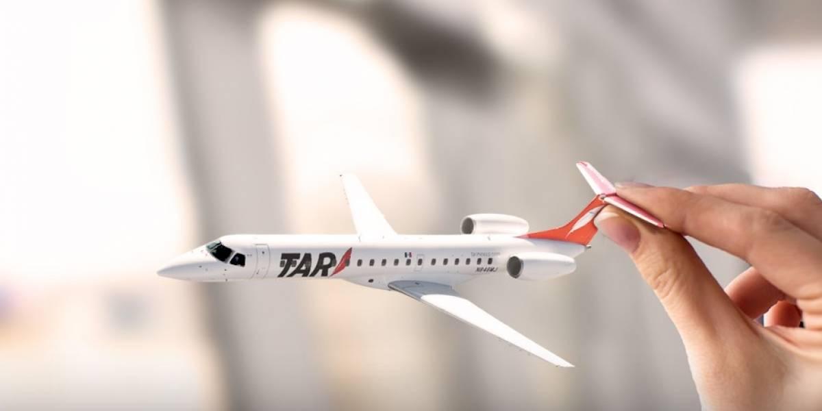 TAR es la primera aerolínea de América Latina que aceptará Bitcoins