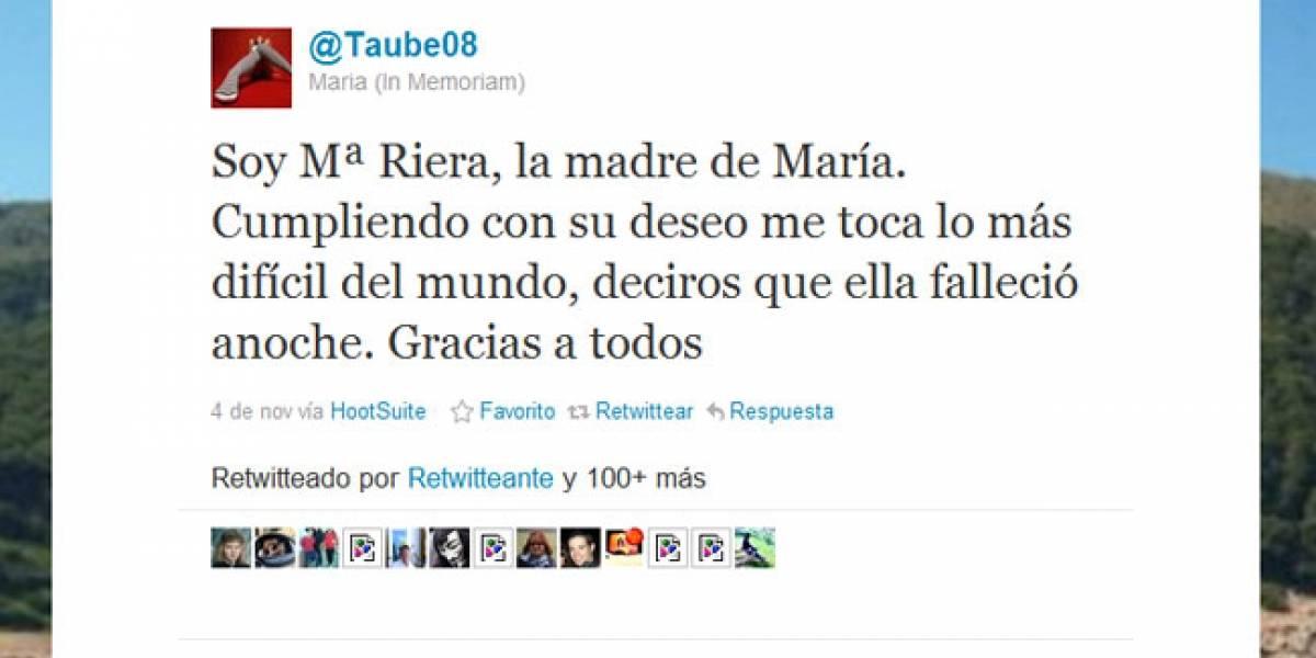 España vive su 'primer Twit-Funeral'