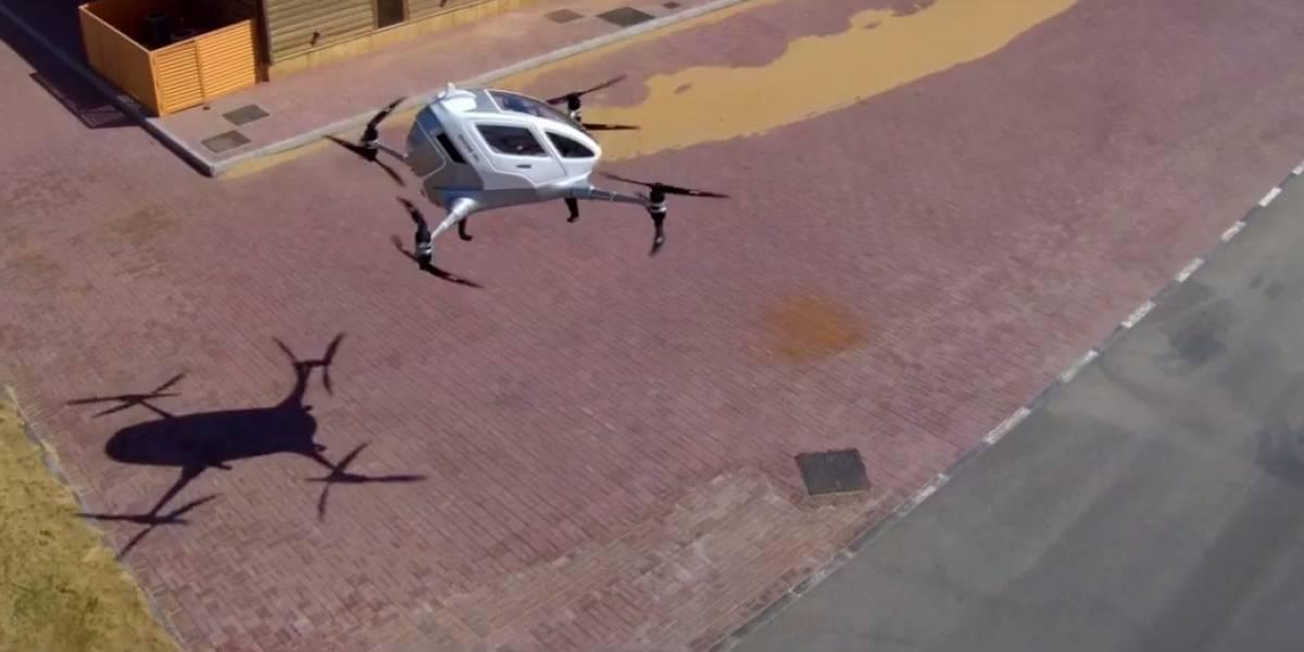 Dubai planea introducir taxis voladores durante este año