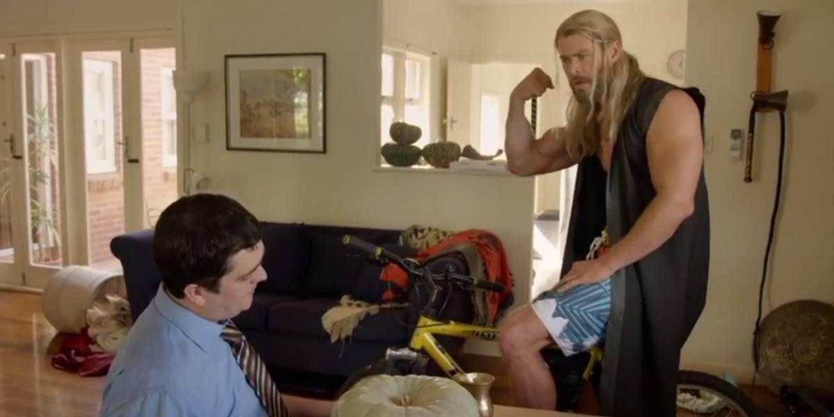 Lanzan nuevo cortometraje de Team Thor