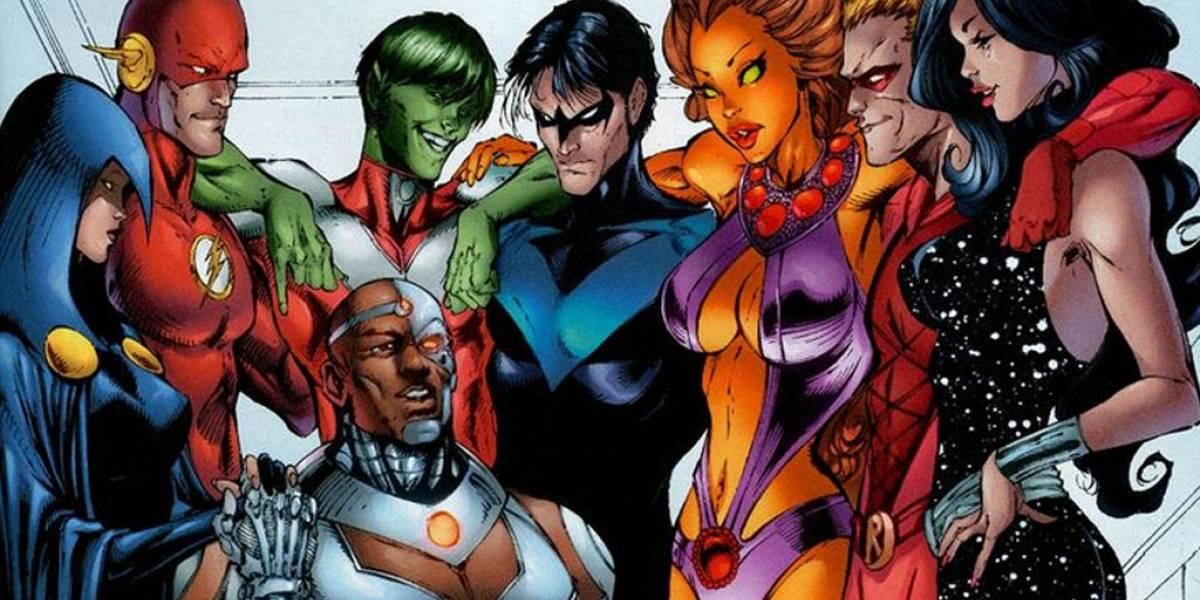 Titans llegarán a la pantalla chica con serie live-action en 2018