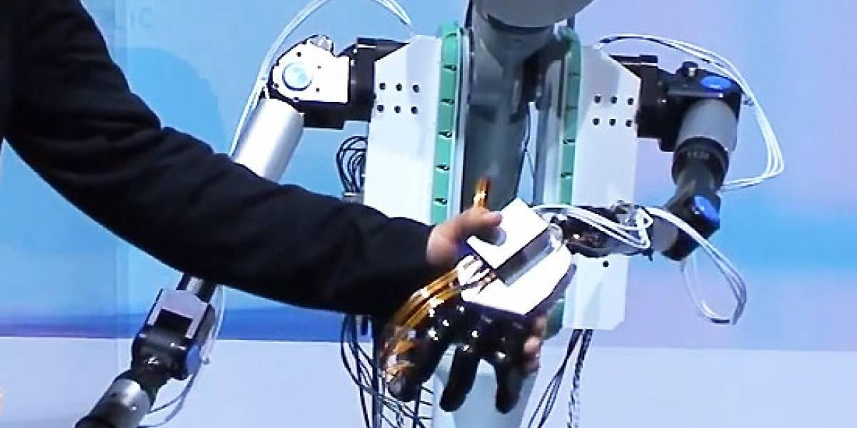 Un robot que nos transmite formas y sensaciones