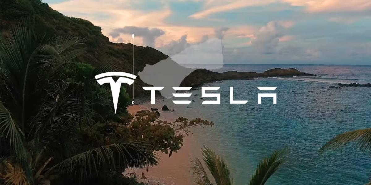 Tesla electrifica una isla entera para probar su sistema de energía solar