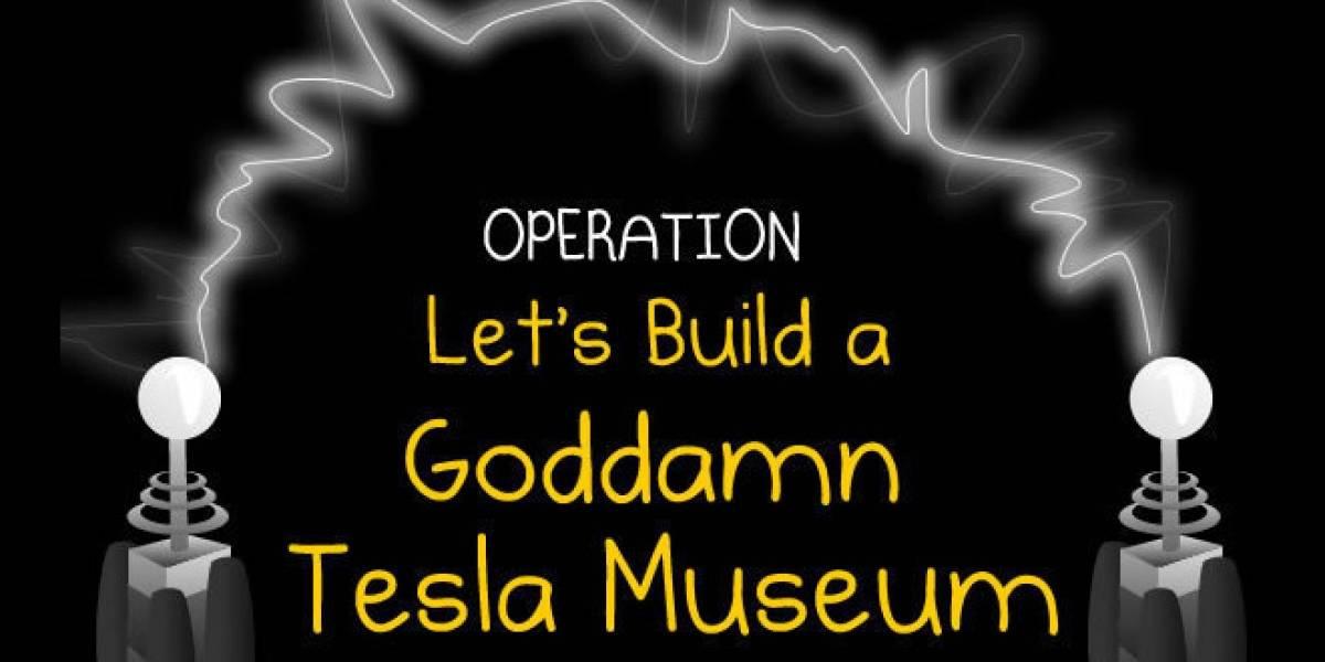 The Oatmeal logró recaudar USD$850.000 para el Museo de Tesla