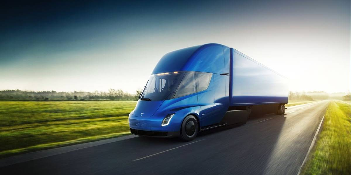 Este es Semi, el primer camión eléctrico de Tesla