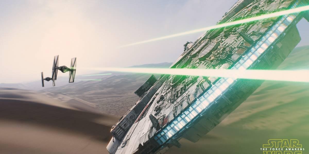 Así se hicieron algunos efectos especiales en Star Wars: El Despertar de la Fuerza