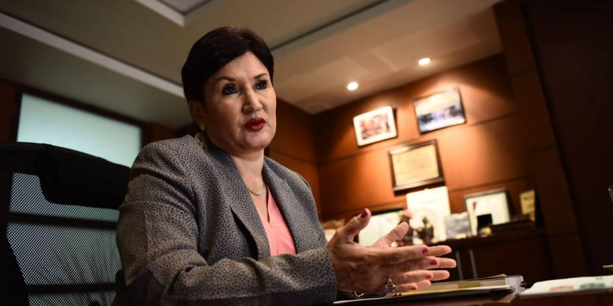 "Thelma Aldana: ""Quieren un Estado débil para reinar"""