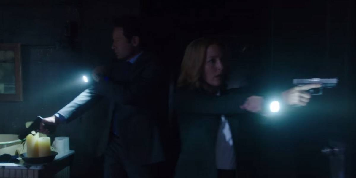 Revisa las primeras imágenes de la vuelta de The X-Files