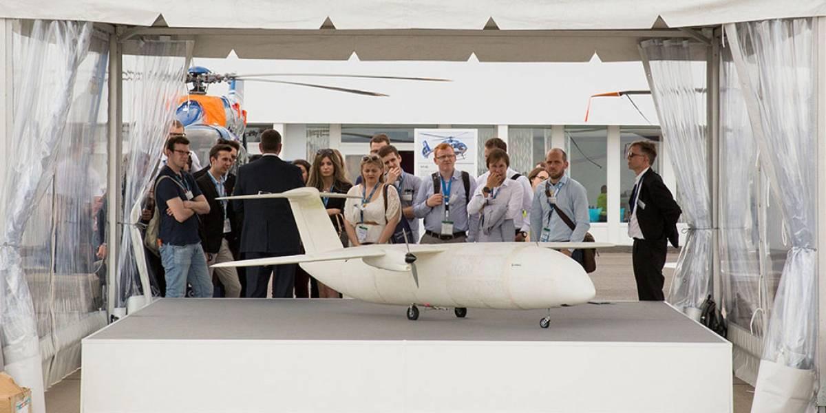 Airbus presenta Thor, un dron creado casi totalmente en una impresora 3D