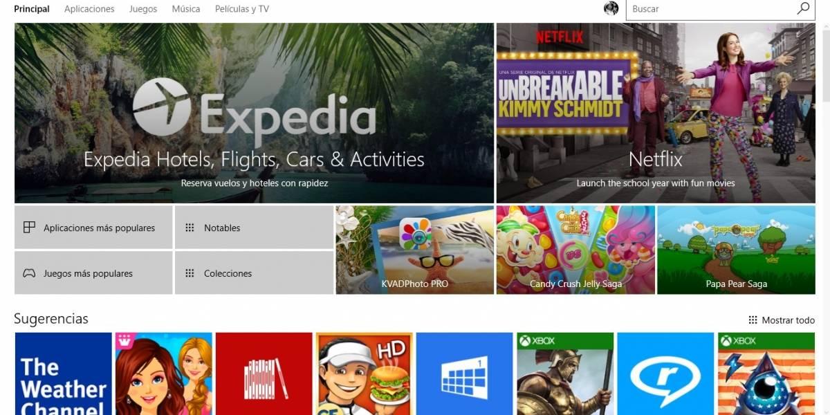 Microsoft eliminará apps no clasificadas por edad en la Tienda Windows