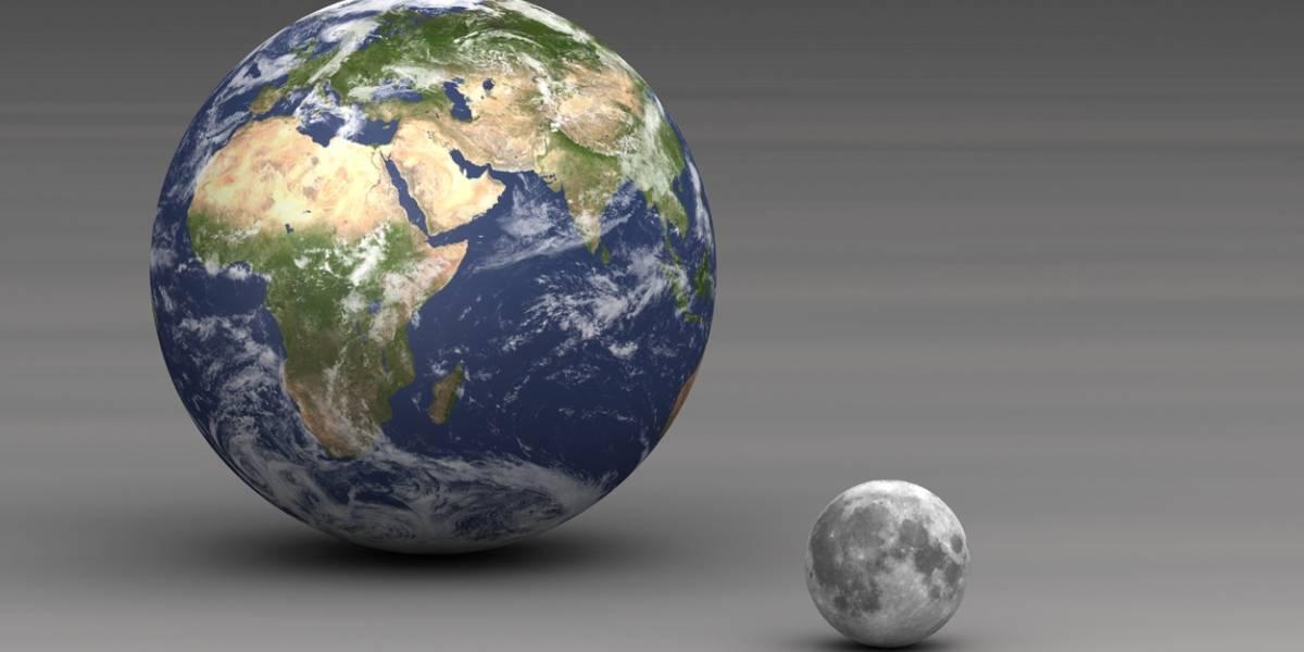 NASA retrata juntas a la Luna y la Tierra para mostrar su distancia