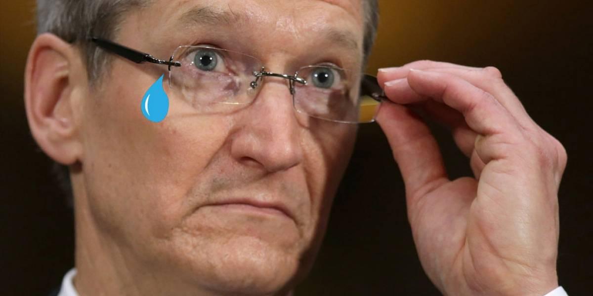 Apple no logra metas de ventas y recortan paga a Tim Cook