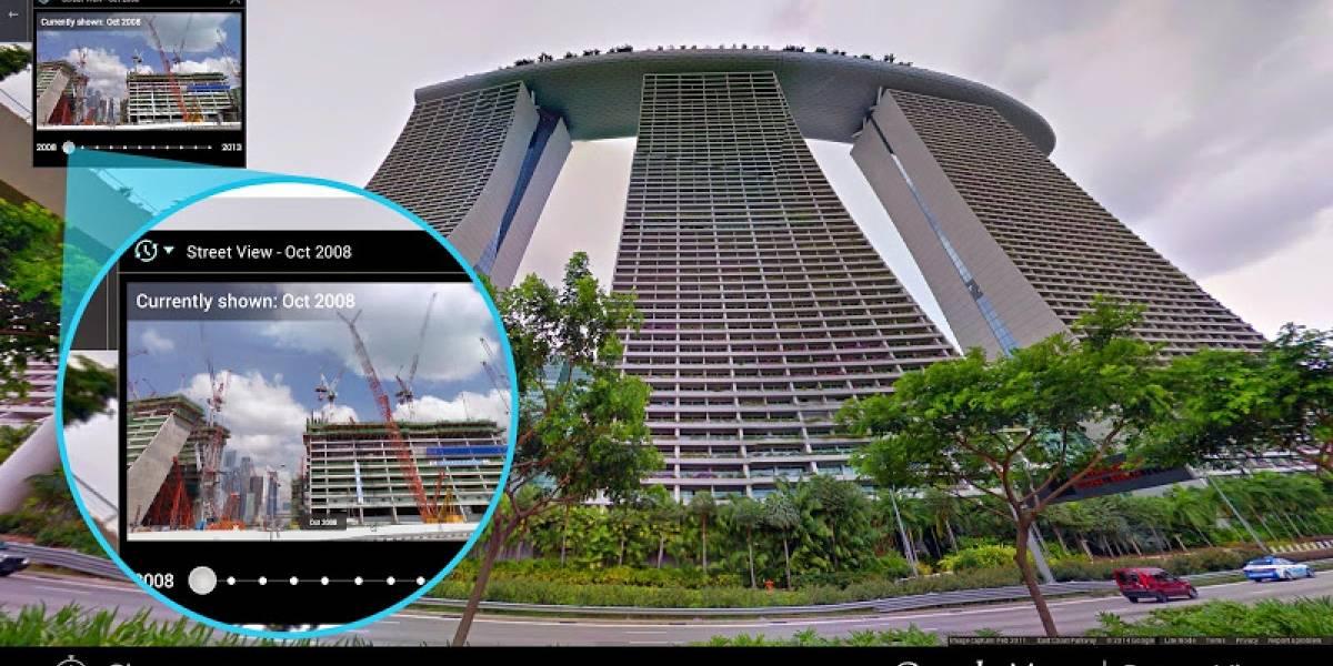Google Street View ahora te deja retroceder en el tiempo