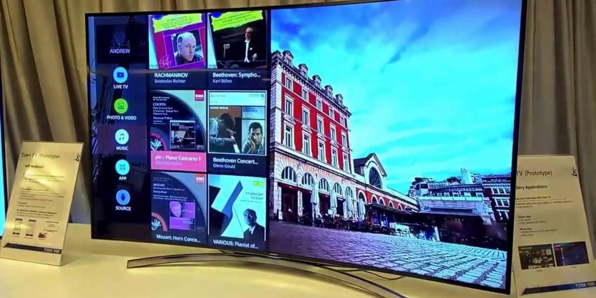 Samsung presenta su primera Smart TV con sistema operativo Tizen