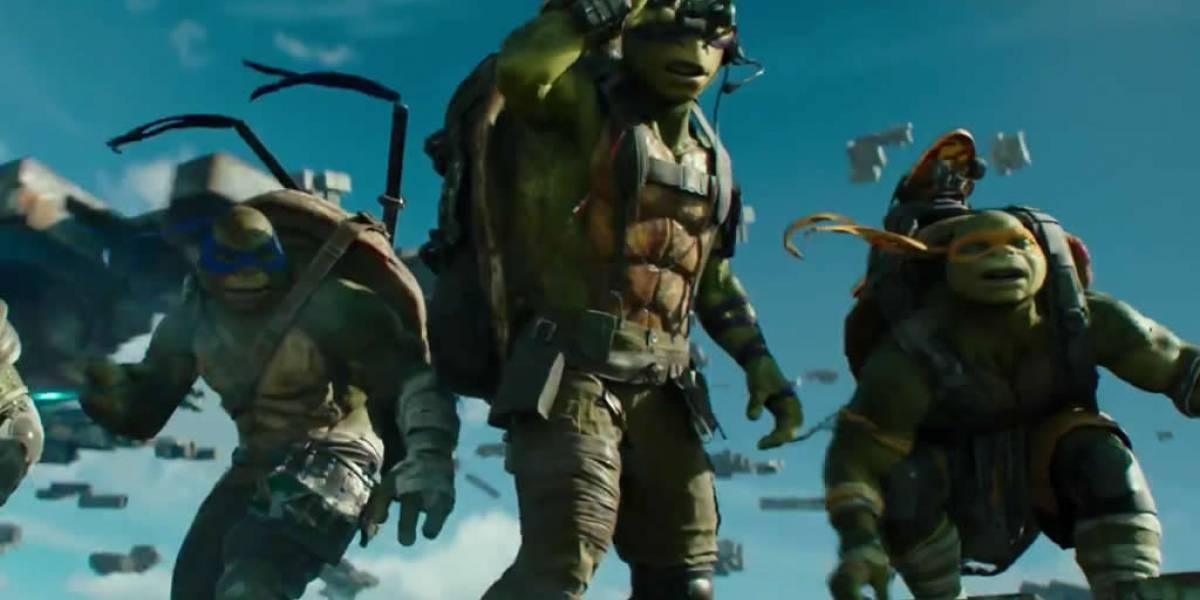 Krang es el protagonista del tráiler final de Las Tortugas Ninja 2