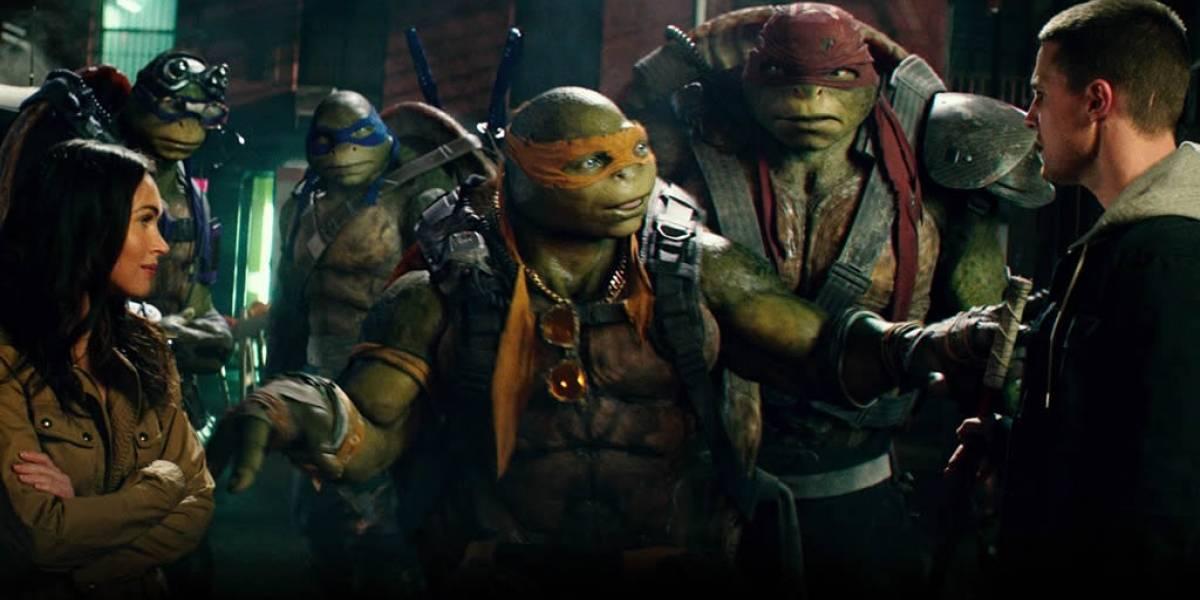 El Technodrome se roba las miradas en el nuevo tráiler de Las Tortugas Ninja II
