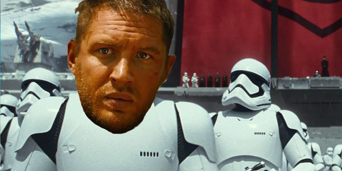 Tom Hardy habla de su posible participación en el Episodio VIII de Star Wars