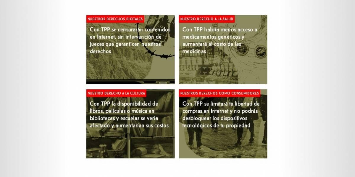 TPP Abierto busca advertir sobre los riesgos a Internet que trae el acuerdo en Latinoamérica