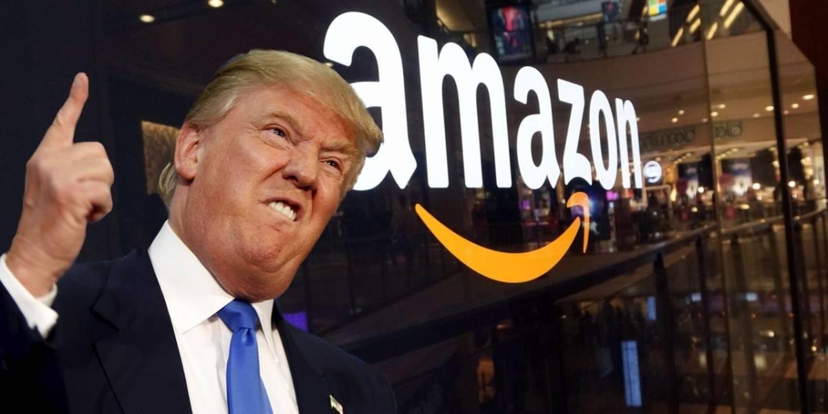 Donald Trump ataca a Amazon por no ser una tienda tradicional del siglo pasado