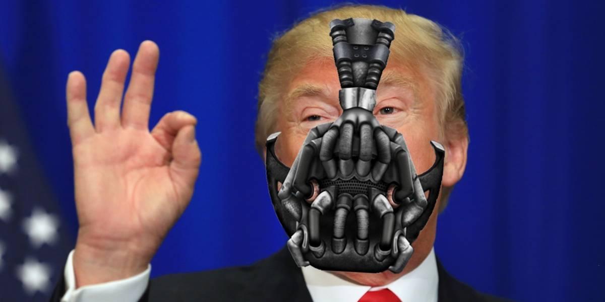 Donald J. Trump cita a Bane (el de Batman) en su primer discurso como presidente