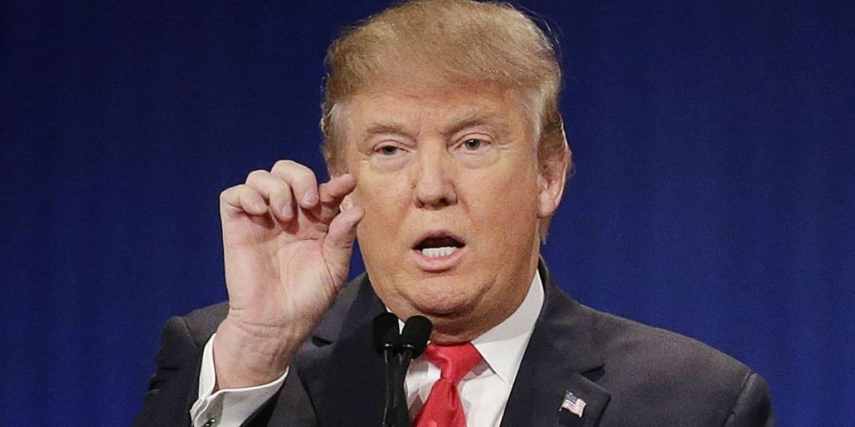 Donald Trump reconoce la existencia del calentamiento global
